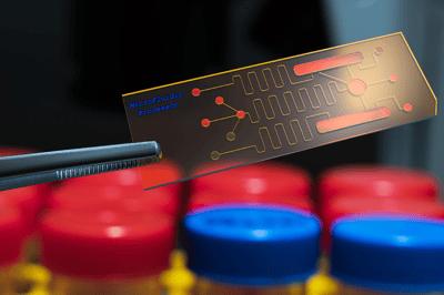 Microfluidic-lab-on-a-chip